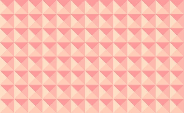 ピンクのピラミッドのベクトルの背景。