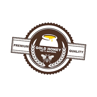 Разработка логотипа, значки, баннеры, реклама в социальных сетях и этикетки для медовой продукции
