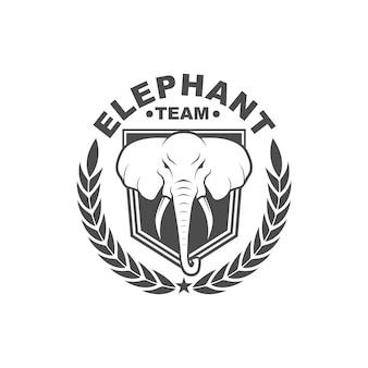 Векторный винтажный стиль логотип