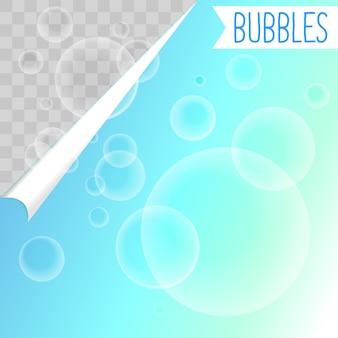 石鹸の泡白シャンプークリップアート