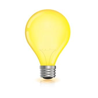 Светящиеся электрические лампочки реалистичные прозрачные лампочки