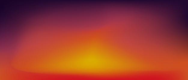 日没のグラデーションの背景。