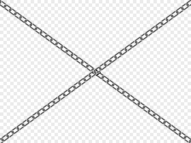 Крест цепь