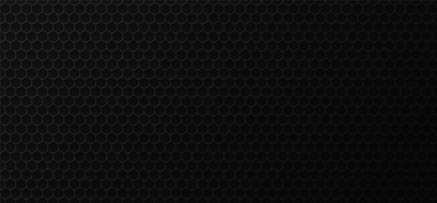 Черный сотовый промышленный фон.