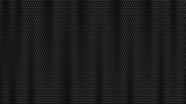 炭素繊維の背景。