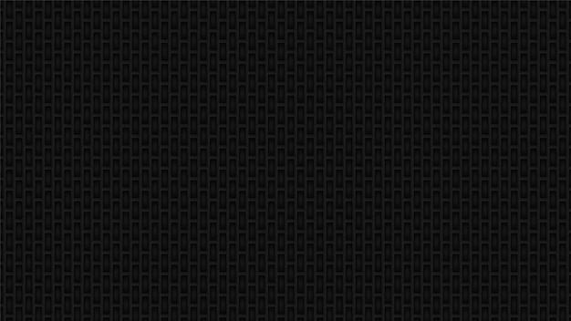 暗い産業長方形グリッドの背景