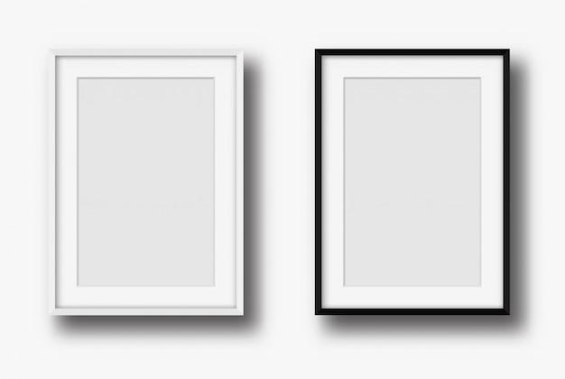 壁の現代絵画フレーム。