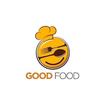 おいしい食べ物のロゴデザイン