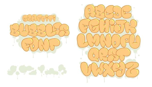 Граффити векторный шрифт