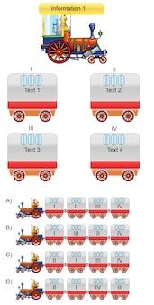 一般 - 電車とワゴンのマッチング