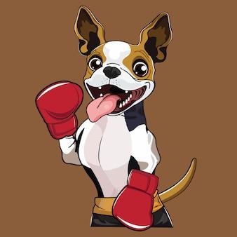 犬ボクサー