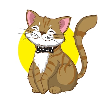 面白い生姜猫