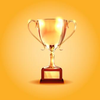 優勝金カップ。
