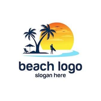 Векторы логотипа пляжа