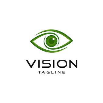 Логотип абстрактного видения