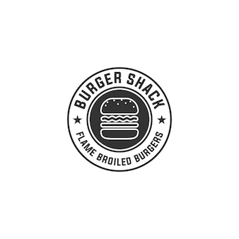 Логотип бургер