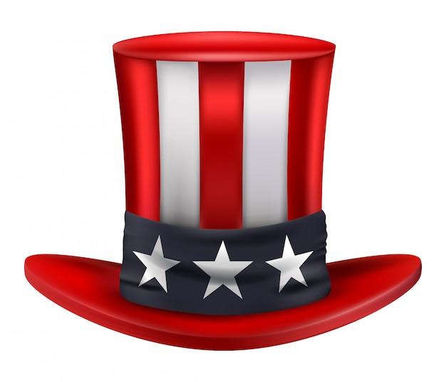 アメリカの叔父サムの帽子
