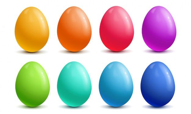 イースターのためのカラフルな卵