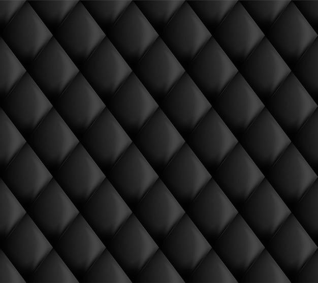 室内装飾パターン黒シームレス