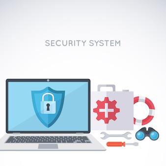 デジタル保護と安全
