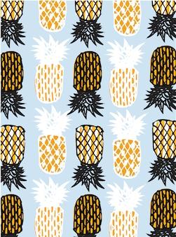 Абстрактный ананас