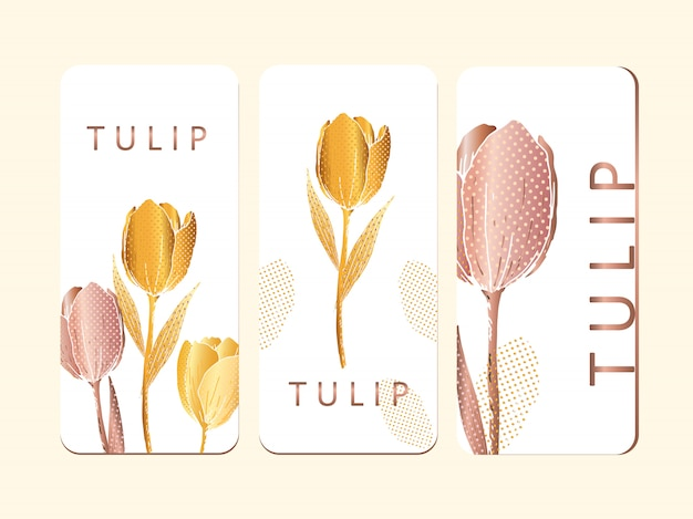 チューリップ印刷パンフレット