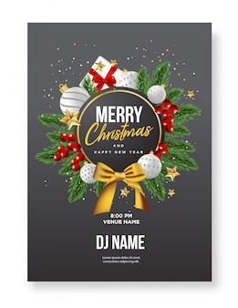 Рождественский постер