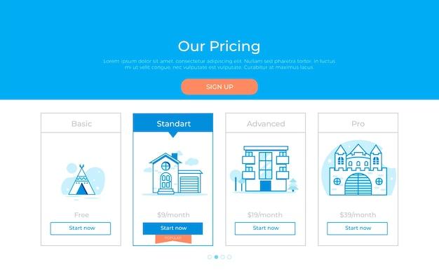 私達の価格計画