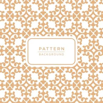 装飾的な優雅な装飾のパターンの背景