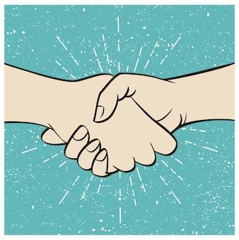 Рукопожатие для бизнеса