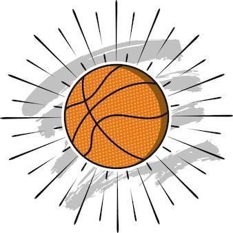 Значок баскетбольного мяча
