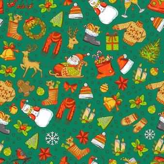 Рождественский узор