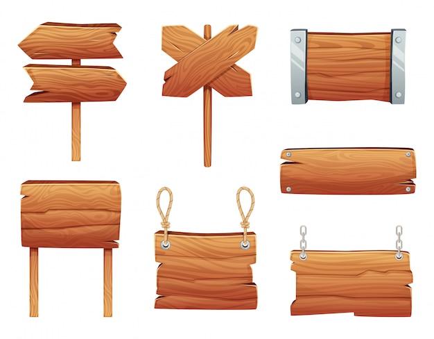 Деревянные вывески
