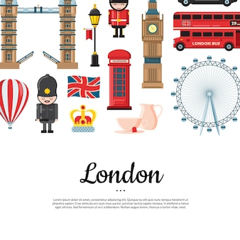 漫画ロンドン観光バナー