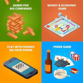 ボードゲームの。チェッカー、チェス、その他のゲーム