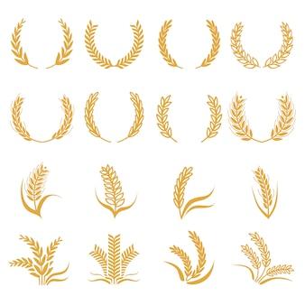 Силуэт пшеницы
