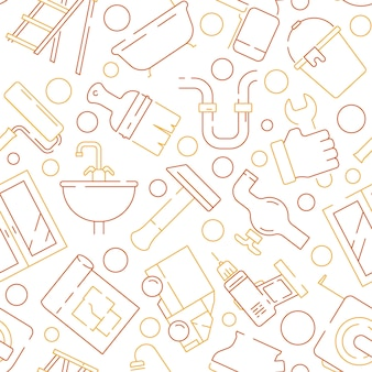 Ремонт оборудования по образцу. вспомогательные предметы обслуживания строительные инструменты роликовый плотник дрель молот