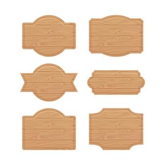 販売価格の木製看板のセット