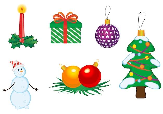 Рождественские иконки и символы