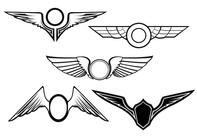 Набор символов крыла