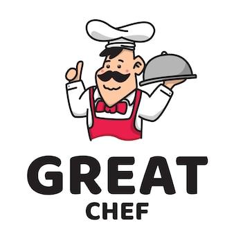 Великий повар милый логотип