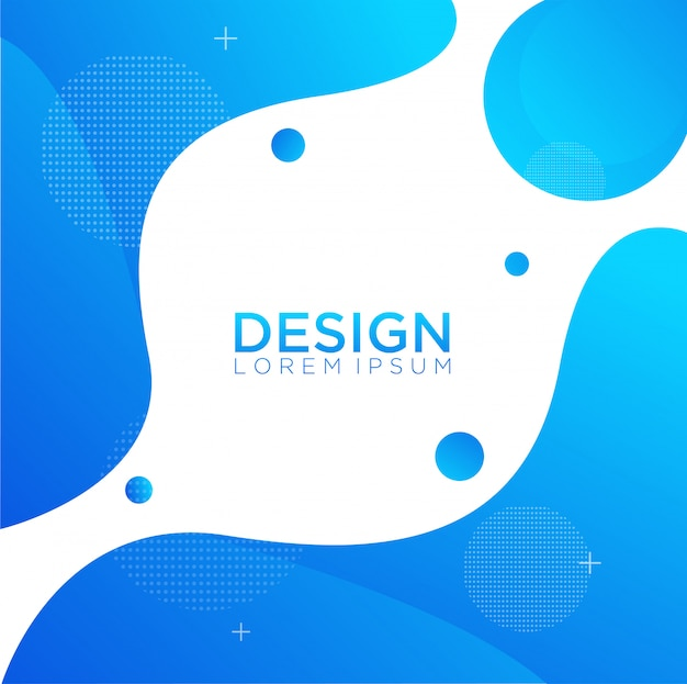 Жидкий цвет фона дизайн жидкости градиентной формы композиции