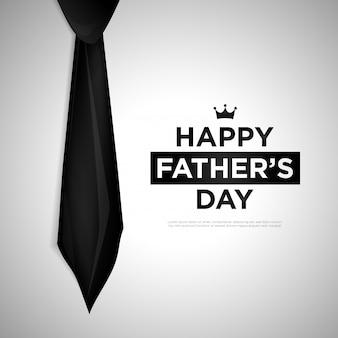 幸せな父の日のベクトルの背景