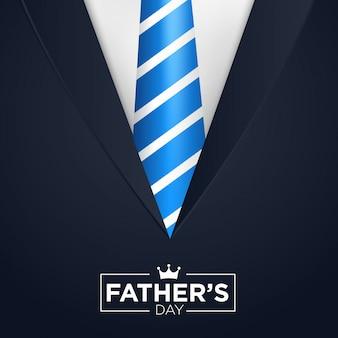 Счастливый день отца векторный фон