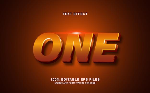 Один эффект стиля глянцевого текста
