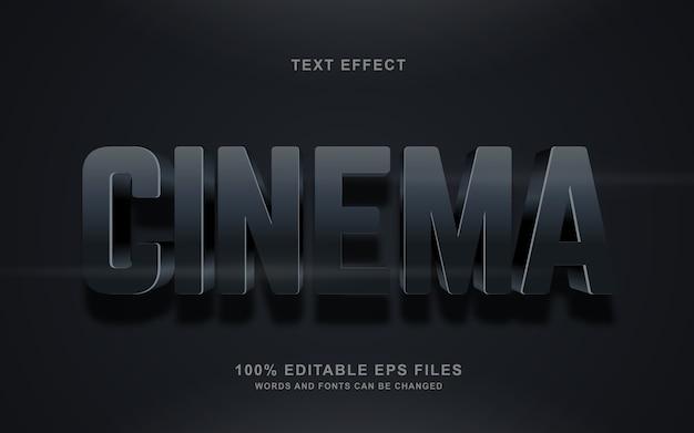 Кинематографический текстовый эффект
