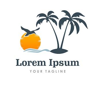 Логотип путешествия