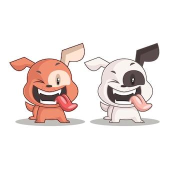 幸せな犬漫画