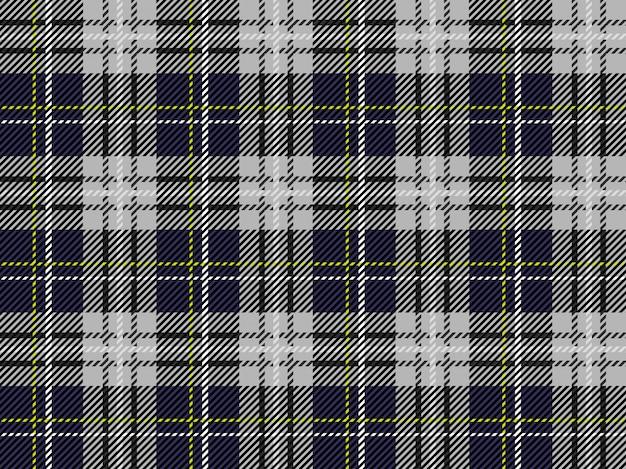 タータンチェック柄のシームレスなパターン背景