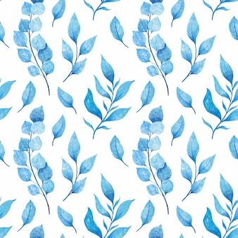 Завод ветви рука нарисованные картины бесшовные. этнический орнамент, цветочный принт, текстильная ткань, ботаническая тематика